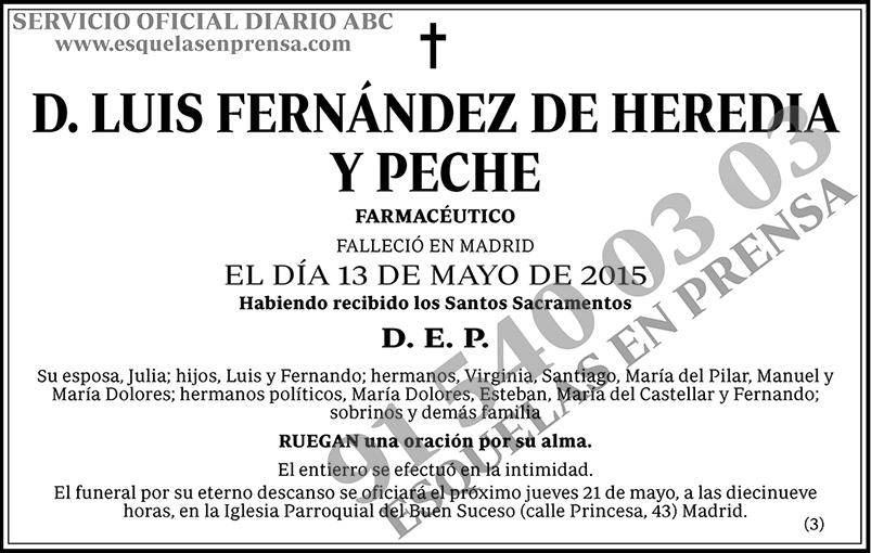 Luis Fernández de Heredia y Peche